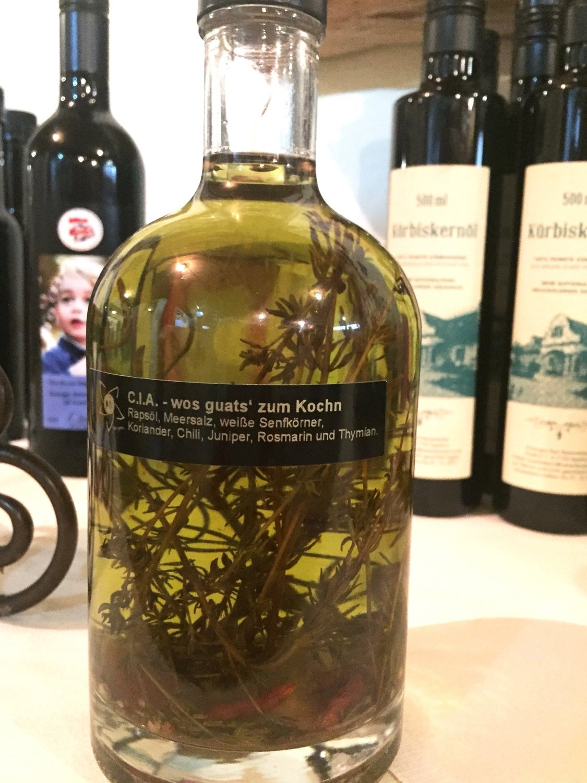 Wos guats zum Kochn - Kräuteröl 500ml