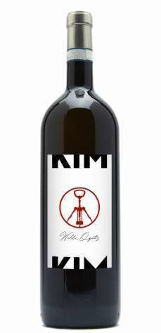 "Special Peace Edition ""Kim Kim ""- red wine cuvée created for the Paralympic Games in Pyeong Chang South Korea"