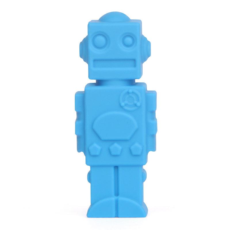 Blue Robot Pencil Topper