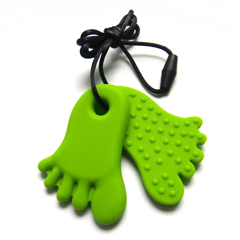 Footprint Pendant Green