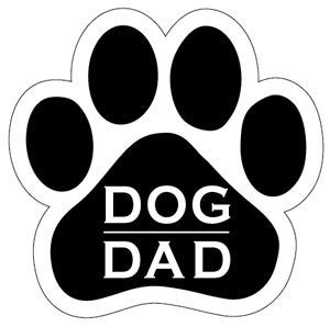 Dog Dad Paw