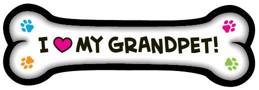 I <3 My Grandpet Magnet