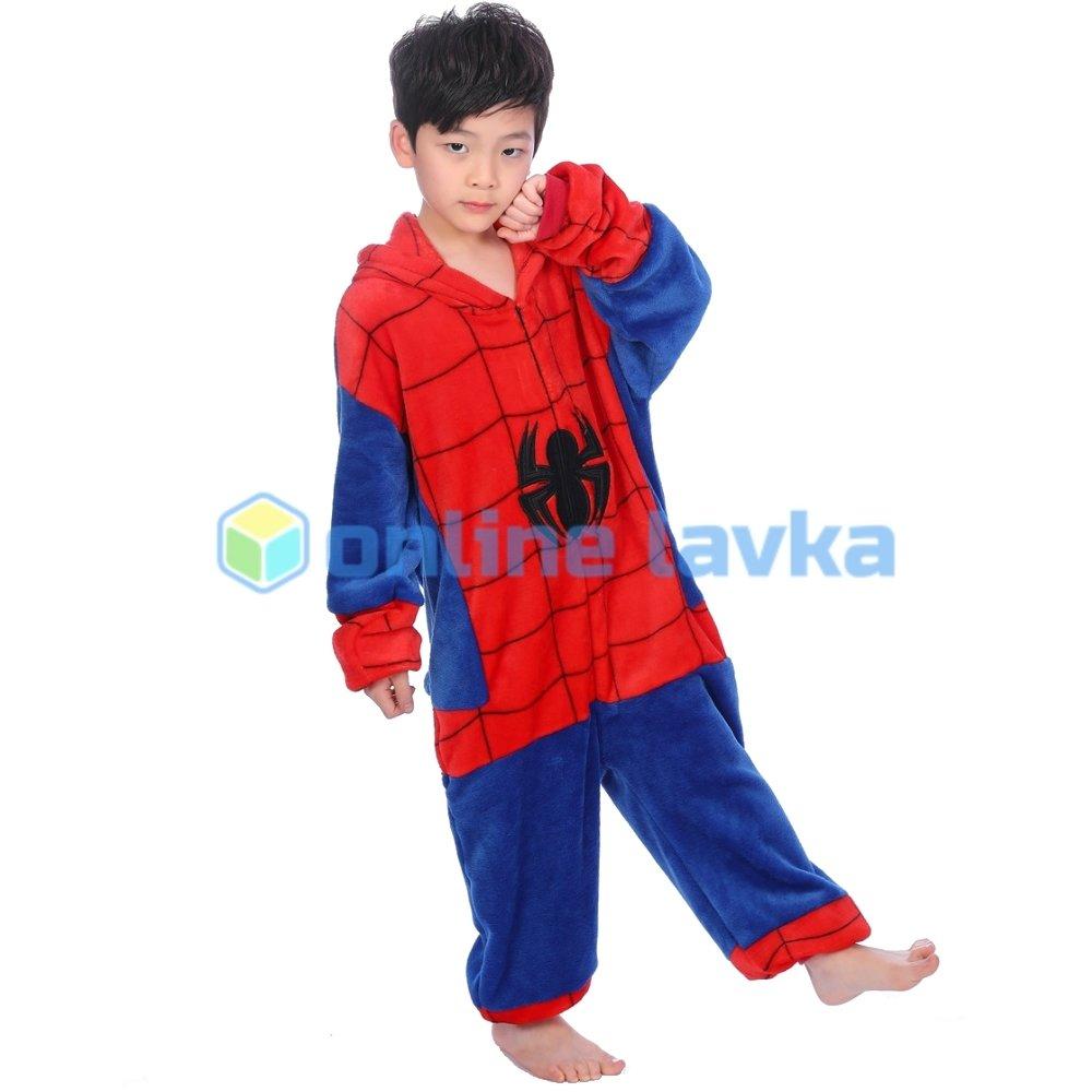 50637 Пижама кигуруми Человек паук (рост до 120 см) ef9b1fb93a7d0