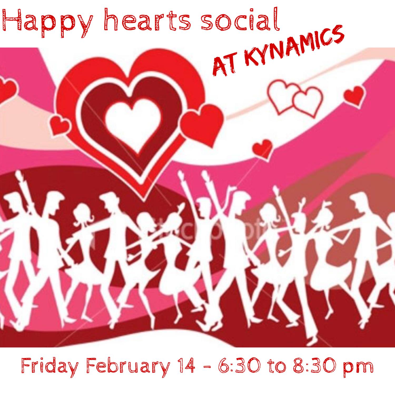 Happy Hearts & Feet Valentine's Line Dancing Social
