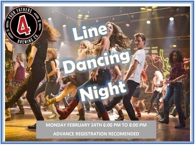 Line Dancing @Four Father's - Feb 24