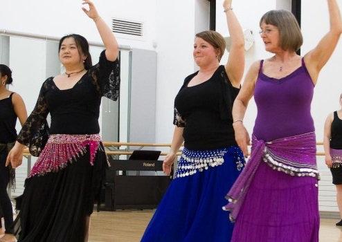 Belly Dancing program