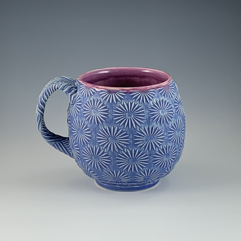 12oz Cup in bloom & bloo