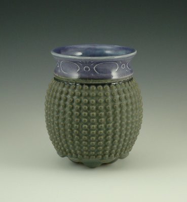 Touchy Libation in grape & grey