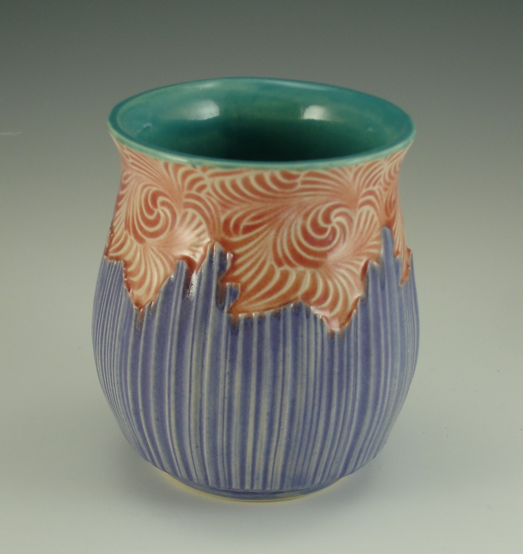 Tammera Libation in turquoise, voom & purple
