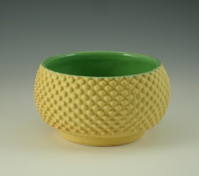 Dip/Sauce/Ice Cream Bowl in green & yellow