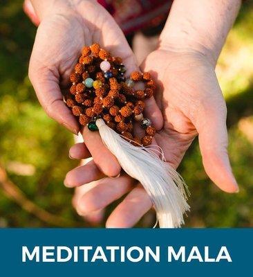 Meditation Mala & Online Meditation Course