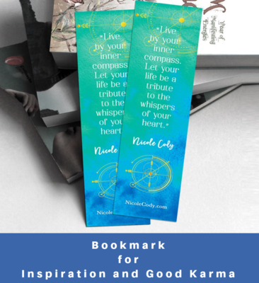 Bookmark - for Inspiration and Good Karma