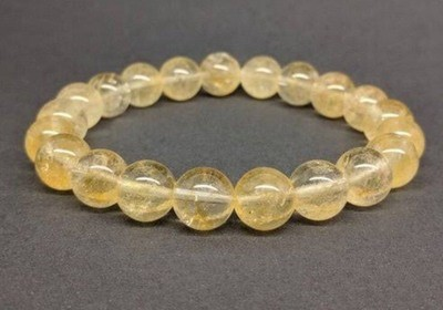 Citrine bracelet for Health and Abundance