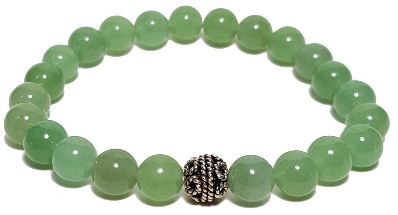 Green Aventine bracelet  for Mental Growth and Stability GABMGS0001