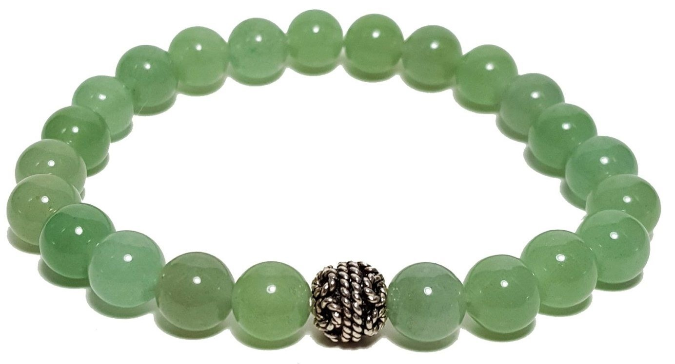 Green Aventine bracelet  for Mental Growth and Stability