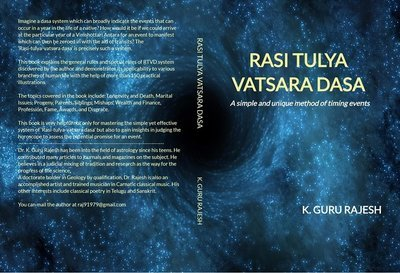 RASI TULYA VATSARA DASA: A simple and unique method of timing
