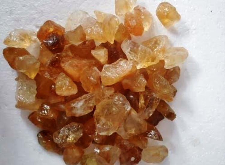 Raw Citrine Small Pieces RCSP002