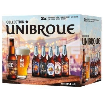 Collection Unibroue 18.99$