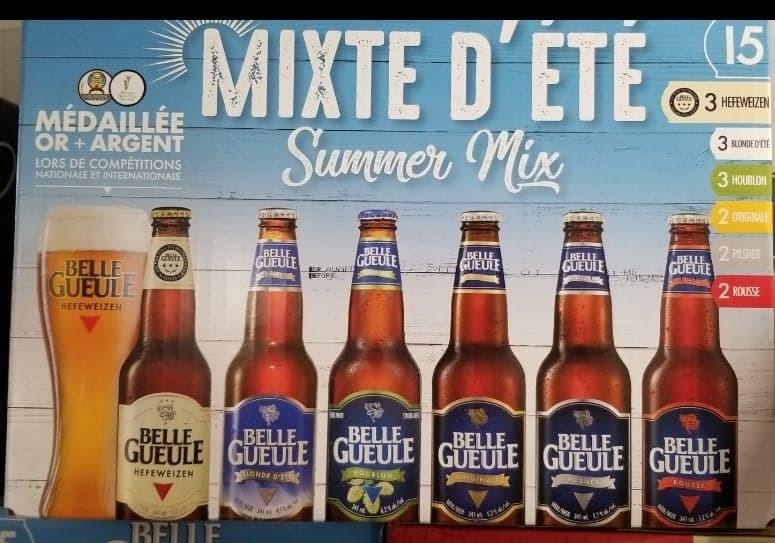 Belle Gueule Mixte d'été 15 Bouteilles