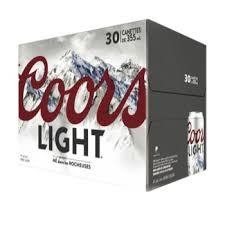 Coors Light 36,99$