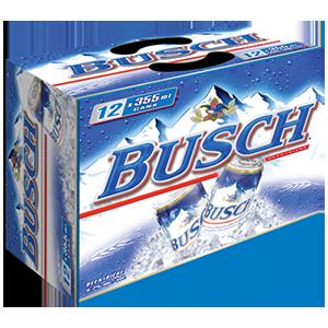 Busch au choix 16,99$