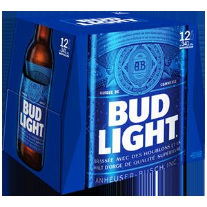 Bud light 18,99$