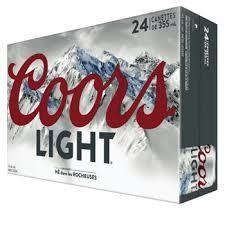 Coors Light 33,99$