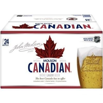 Molson Canadian 33,99$
