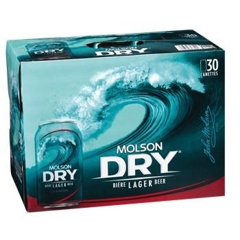 Molson Dry 37,99$
