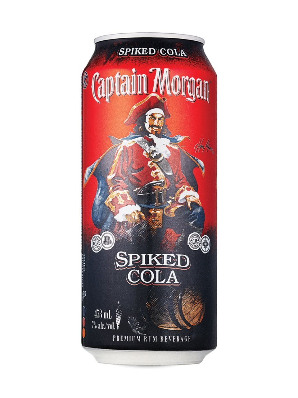 Capitaine Morgan 6 Canettes 9,19$