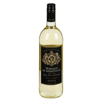 Marquis de Mericourt Blanc 12.99$