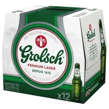 Grolsch 16,99$
