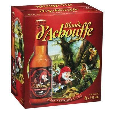Blonde D'Alchouffe 6-pack 11.99$