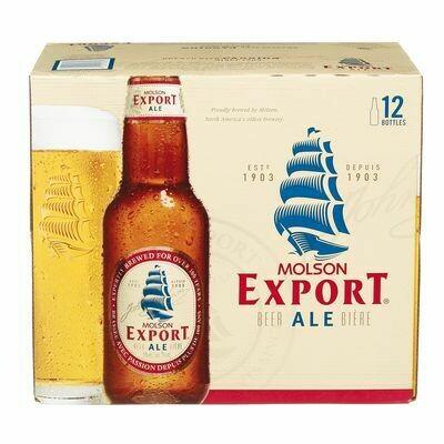 Molson Export 18.99$