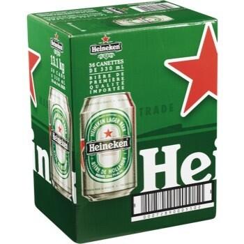 Heineken 36 Canettes 62,59$