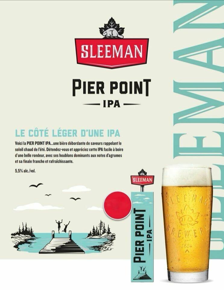 Sleeman Pier Point IPA 17,99$