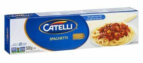 Pâtes Catelli au choix 4,59$