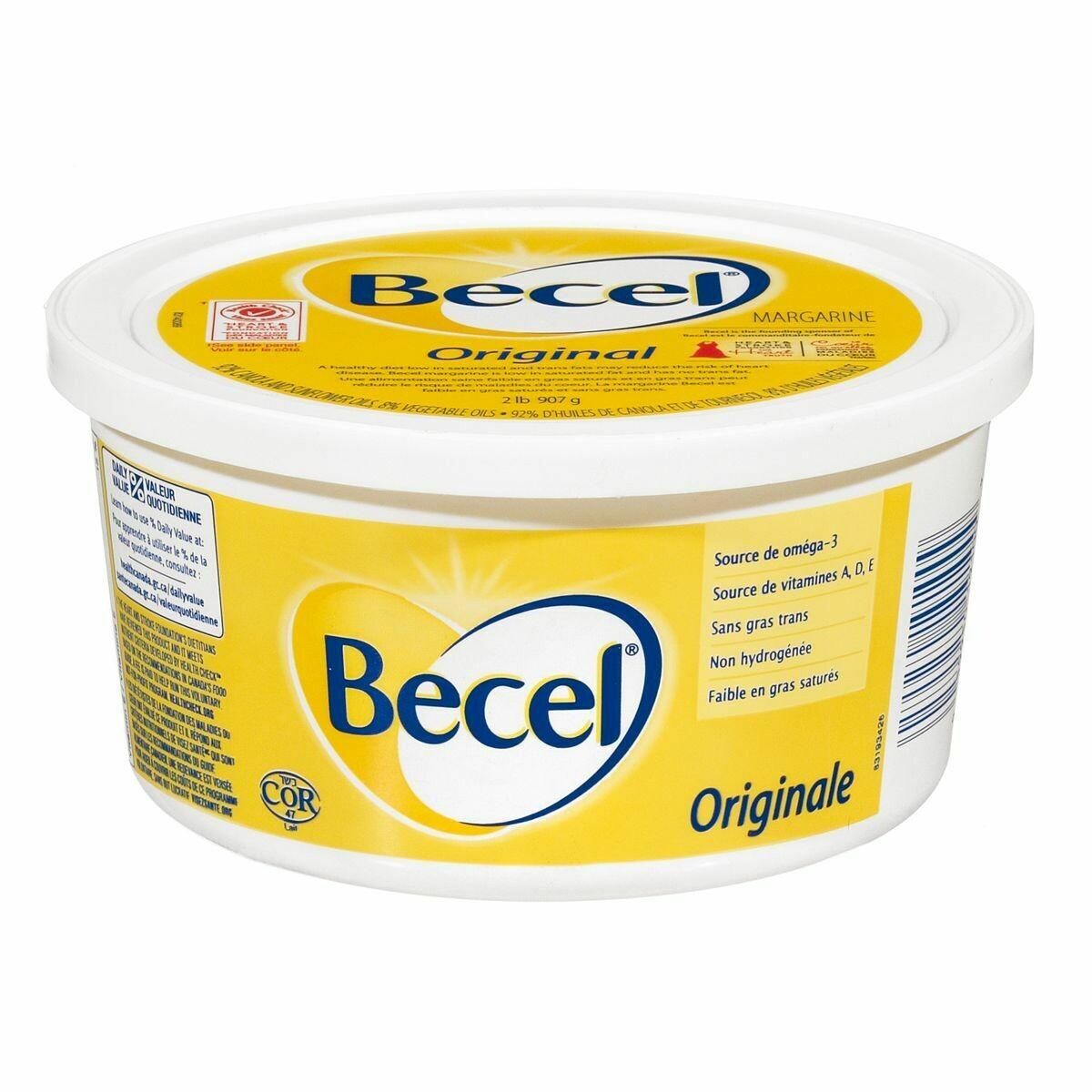 Margarine Becel 454g 5,29$