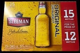 Sleeman Draught 19.99$