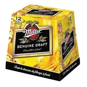Miller Genuine Draft 19,99$