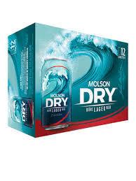 Molson Dry 16.99$