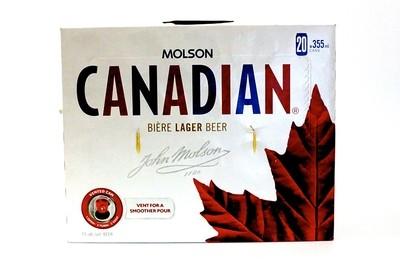 Molson Canadian  28.99$