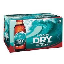 Molson Dry  32,99$