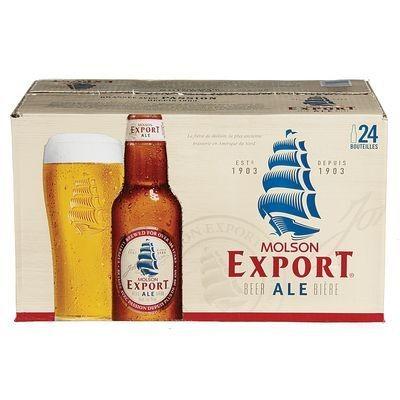 Molson Export  33,99$