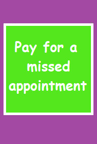 Missed Appointment Fee