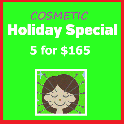 Cosmetic Acupuncture 5-Pack (Limit 2 Per Person, Sale Ends Dec. 15th)