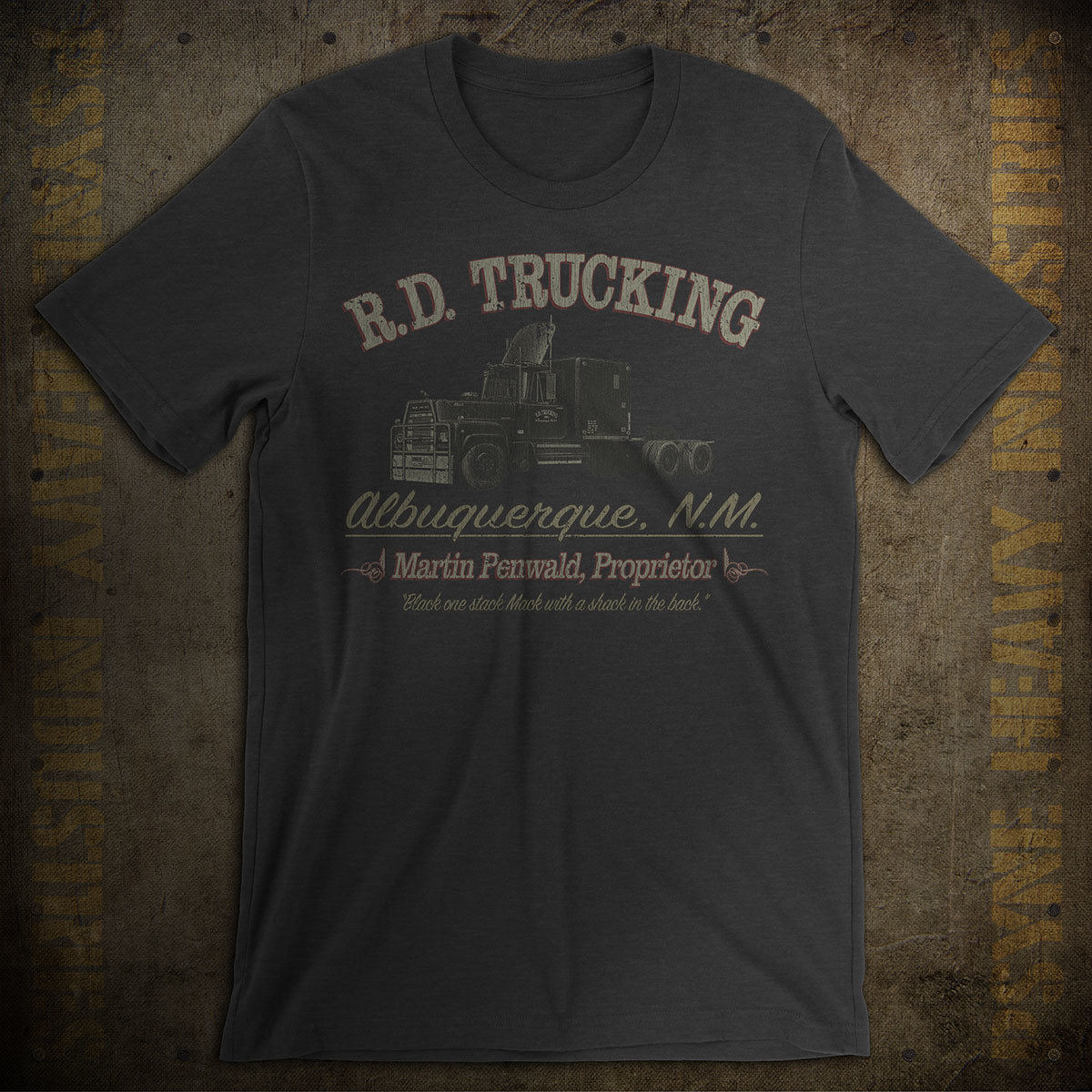 "R.D. Trucking ""Convoy"" Vintage T-Shirt"