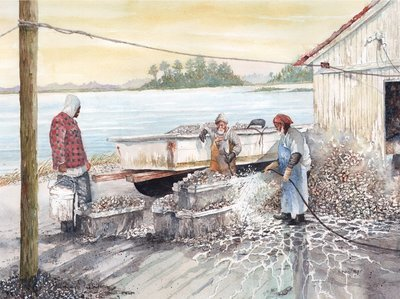 May River Oyster Workers