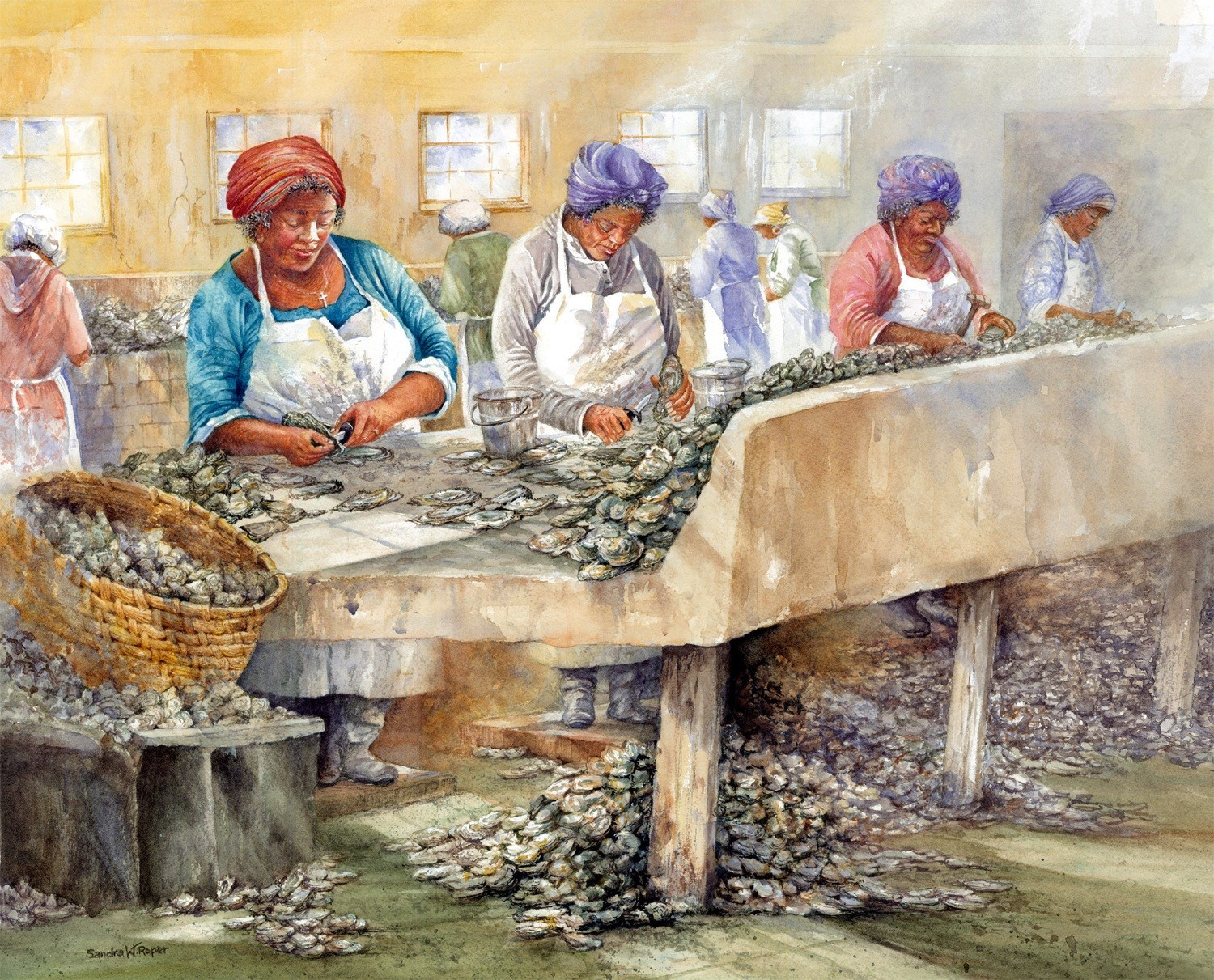 May River Oyster Shuckers