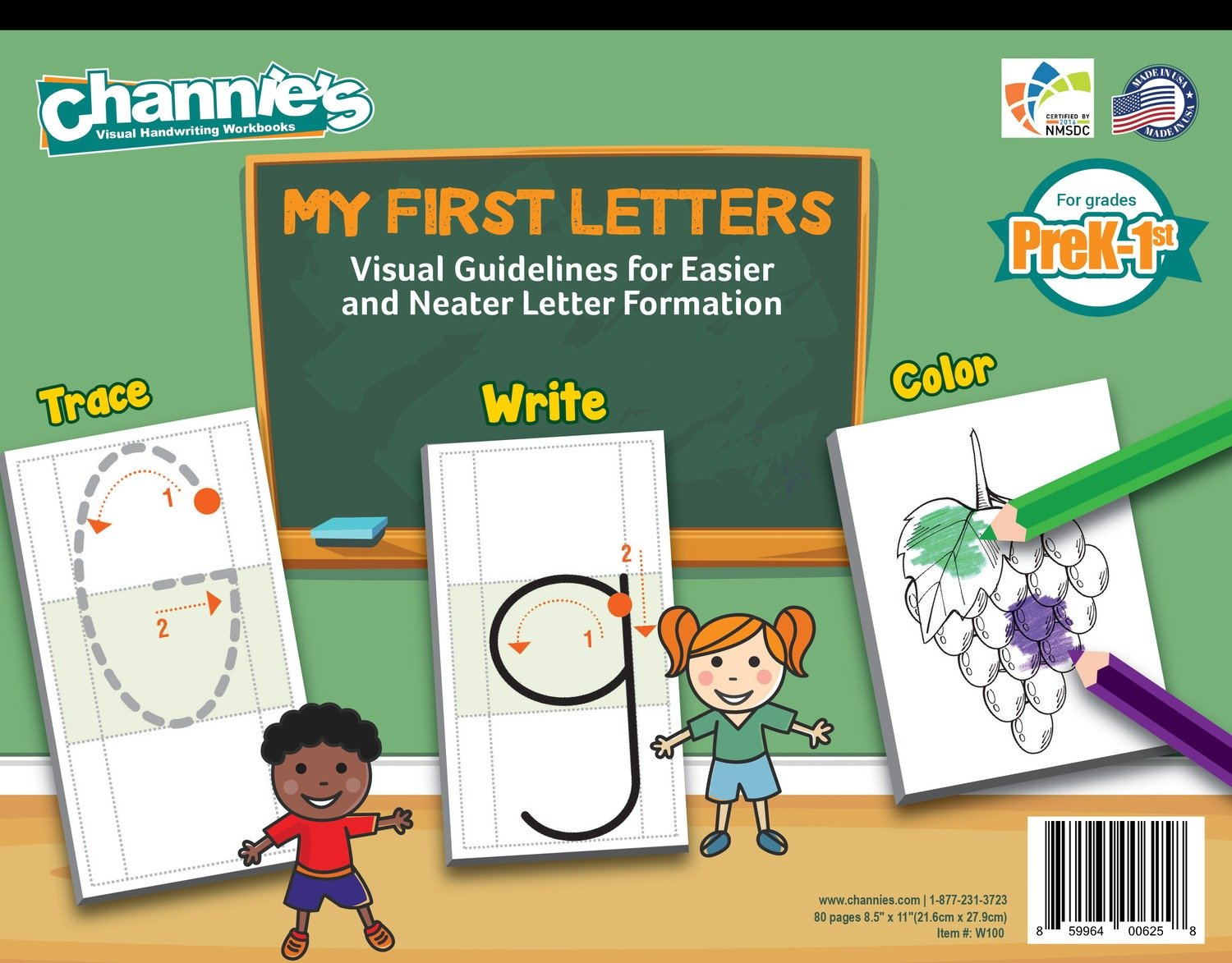 Workbooks prek workbooks : Prek-1st My First Letter Alphabet Handwriting Paper